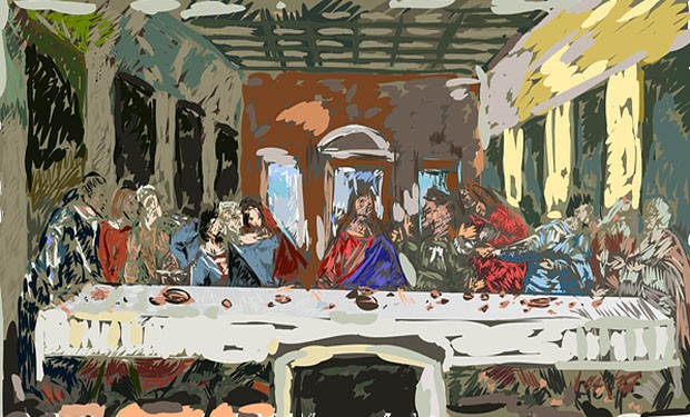 """Storia di una involuzione:  dalla cena del """"corpo di Cristo"""" alla messa"""