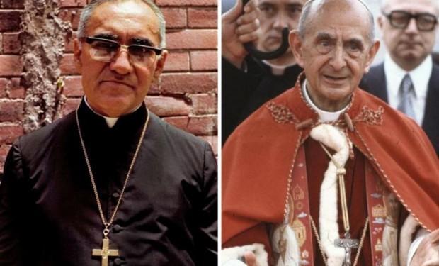 Paolo VI e Oscar Romero presto santi