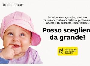 Ora di religione: parte la campagna Uaar contro l'«indottrinamento» dei bambini