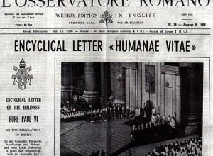 Una vita difficile: l'Humanae vitae compie 50 anni. E fa ancora discutere