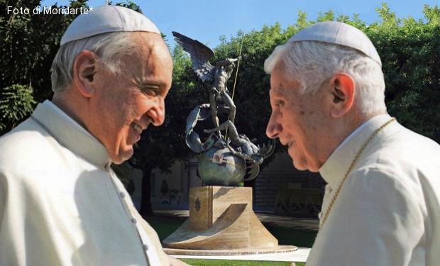 Papa Benedetto:  luci e ombre di una successione senza morte