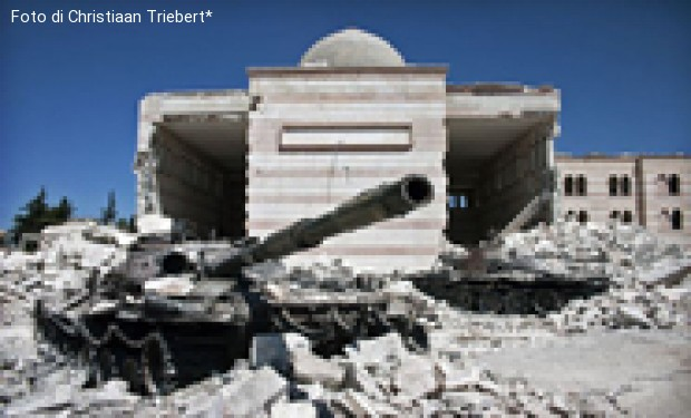 Siria. Venti di guerra  e domande di pace