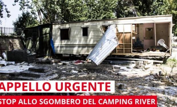 Non sgomberate quel camping! Appello alla sindaca Raggi