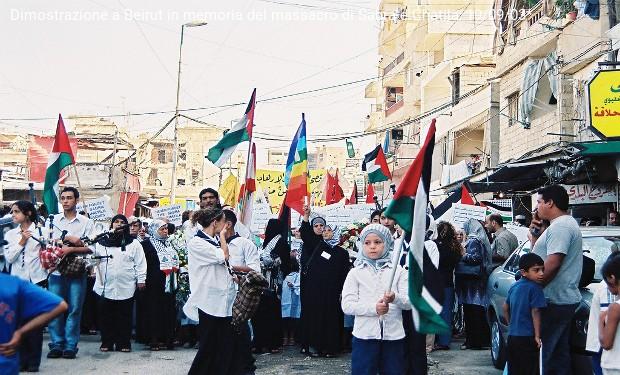 Anniversario di Sabra e Chatila, fare memoria per la liberazione dei palestinesi