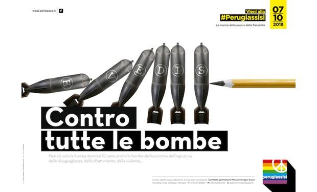 #PerugiAssisi, contro tutte le bombe