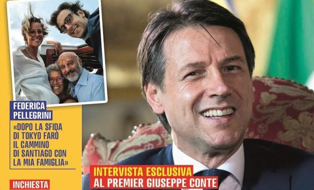 """Chiesa, migranti, manovra economica, spese militari: """"Famiglia Cristiana"""" intervista il premier Conte"""