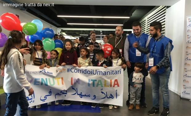 Corridoi umanitari di Evangelici italiani e Comunità Sant'Egidio: altri 82 arrivi dalla Siria