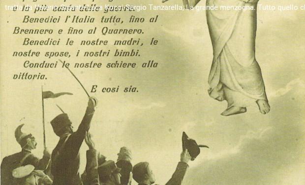 Quattro novembre cento anni dopo: un lutto. No alle celebrazioni patriottarde.