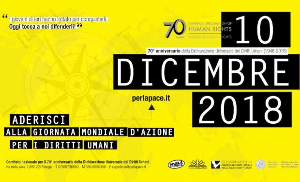 Italia batti un colpo! Appello al Parlamento per i 70 anni della Dichiarazione dei Diritti Umani