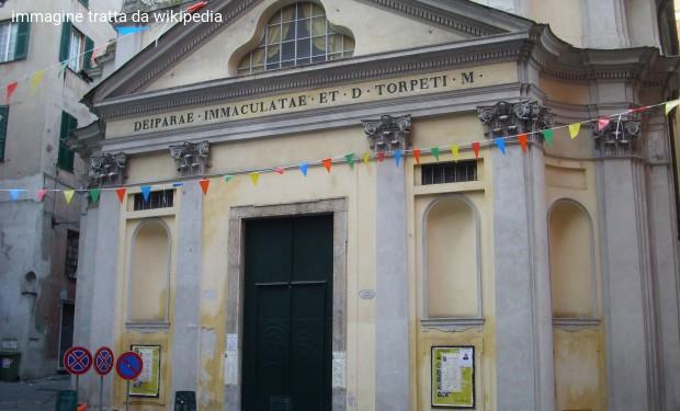 Genova: san Torpete chiude a Natale. Gesù è espulso dall'Italia dal decreto sicurezza di Salvini
