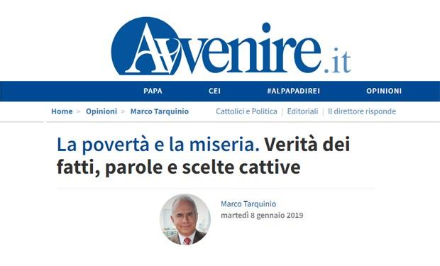 """Salvini attacca la Chiesa e fa propaganda sui poveri """"italiani"""". La ferma replica di """"Avvenire"""""""