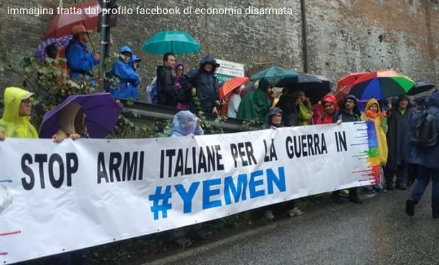 Stop bombe italiane per la guerra in Yemen. Mozione in Campidoglio il 5 febbraio