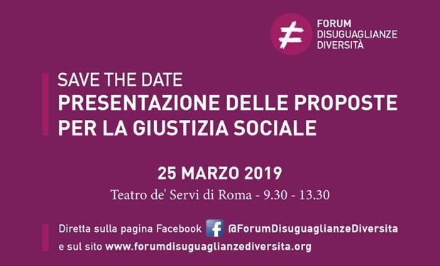 """Cambiare si può! Il """"Forum Disuguaglianze Diversità"""" presenta 16 proposte per la giustizia sociale"""