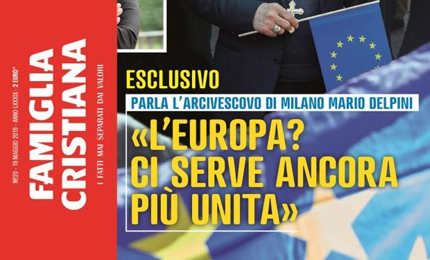 Europee 2019, mons. Delpini: «Non facciamoci abbagliare dal sovranismo»