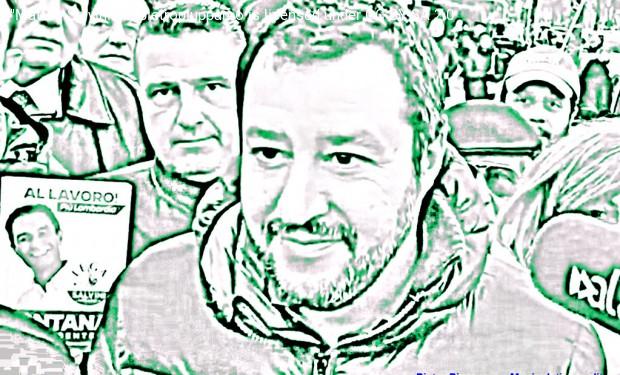 Il comizio sovranista di Salvini a piazza Duomo: ignoranza e blasfemia