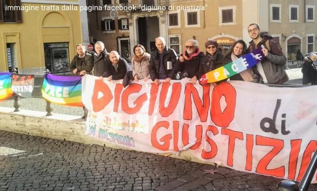 A Montecitorio, digiuno contro il razzismo di governo