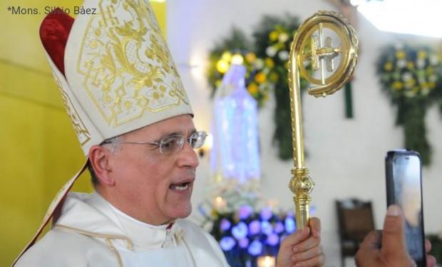 «Non concepisco il mio ministero episcopale lontano dal popolo» Mons. Silvio Bàez rompe il silenzio