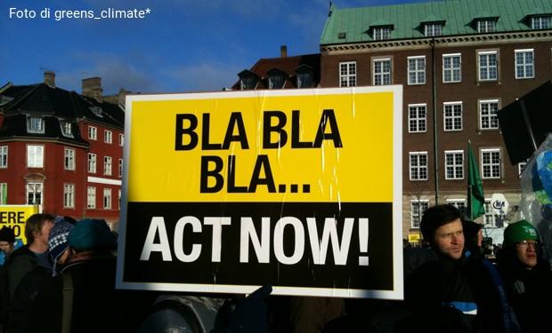 Zero chiacchiere, obiettivi ambiziosi, azioni incisive. Il WWF chiede un patto per salvare il pianeta