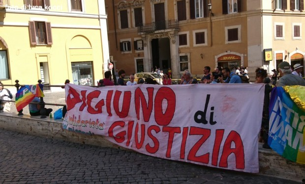Digiuno di giustizia con i migranti: di nuovo a Montecitorio il 5 dicembre