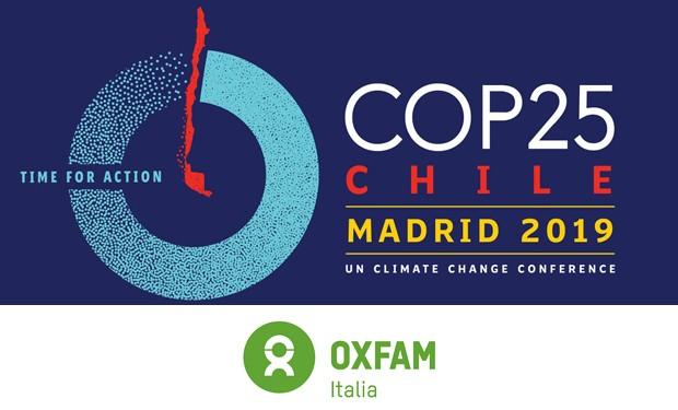 Cop25 e migranti climatici: la denuncia e l'appello di Oxfam