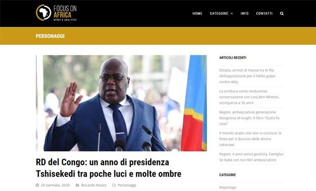 Un anno di Tshisekedi in Congo, «tra poche luci e molte ombre»