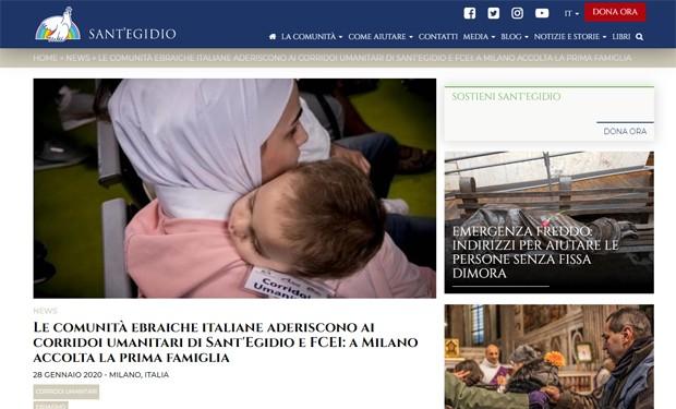 Corridoi umanitari: a Milano, ebrei e cristiani accolgono una famiglia musulmana