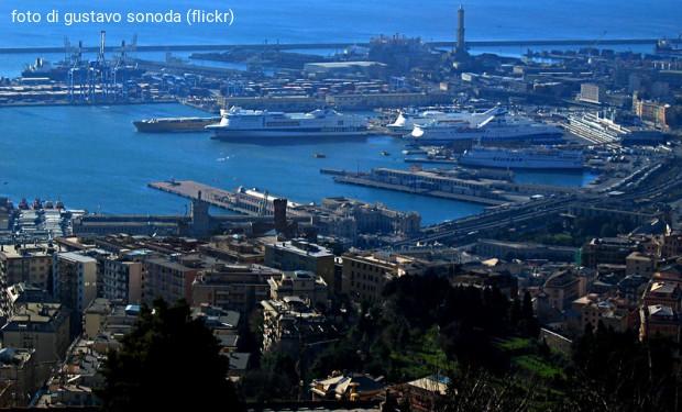No alle armi nel porto di Genova