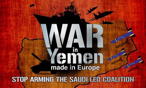 25 marzo contro la guerra in Yemen e contro la vendita di armi ai sauditi