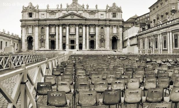 In Vaticano sette contagiati al Covid-19. E Settimana santa a porte chiuse