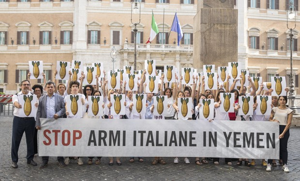 Relazione export armi: Italia ancora complice della guerra in Yemen?