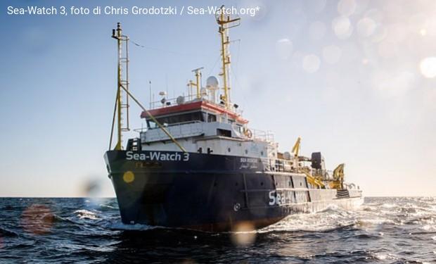 Sotto l'egida della Chiesa evangelica tedesca, salpa Sea-Watch 4