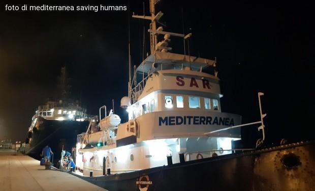 «Siamo partiti. Ritorniamo nel Mediterraneo centrale con la Mare Jonio»