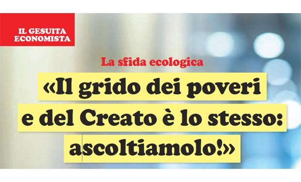 Una «ricostruzione sociale ed ecologica» contro la privatizzazione del mondo: