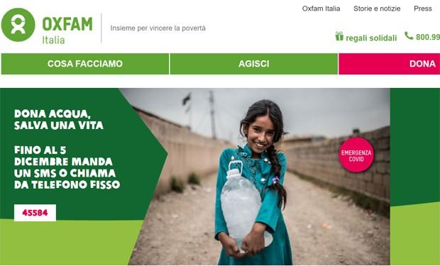 Dove manca acqua il rischio Covid aumenta: la mobilitazione di Oxfam
