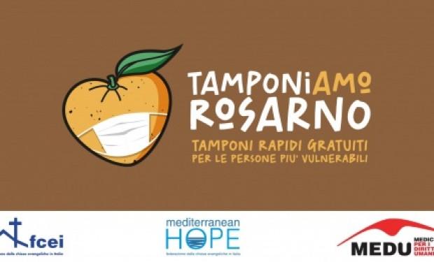 """""""TamponiAMO Rosarno"""": campagna per il diritto alla salute delle Chiese evangeliche e dei Medici per i diritti umani"""