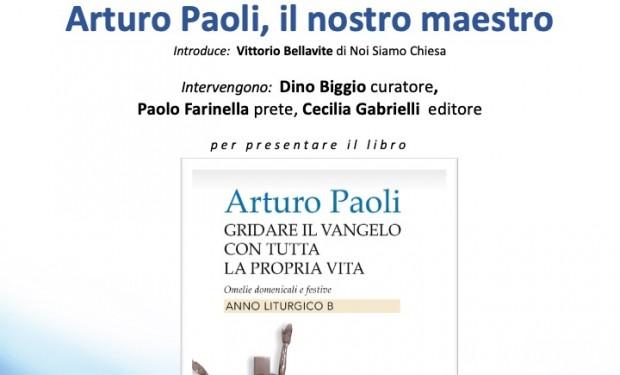 Incontro di presentazione delle omelie di Arturo Paoli
