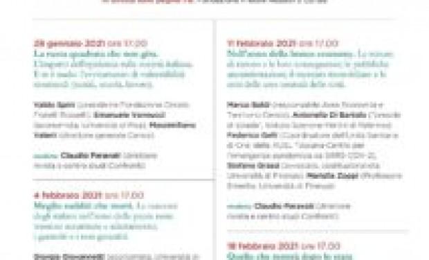 Pandemia e situazione sociale italiana