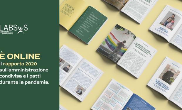 Presentazione in diretta streaming della sesta edizione del Rapporto Labsus 2020 sull'Amministrazione condivisa dei beni comuni in Italia