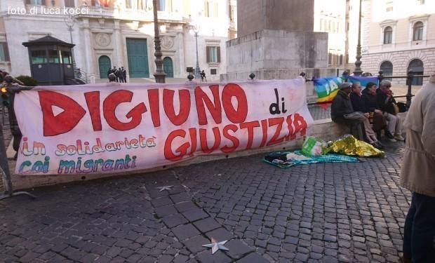 Torna in piazza il Digiuno di solidarietà con i migranti