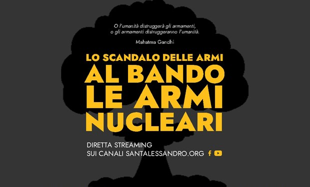 «Lo scandalo delle armi nucleari»: realtà cattoliche di Bergamo promuovono un incontro