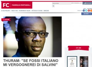 """Razzismo, vergogna e pericolo d'Europa: """"Famiglia Cristiana"""" intervista Thuram"""