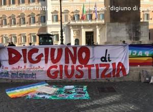 Digiuno di giustizia in solidarietà con i migranti contro il decreto Salvini: il 3 ottobre a Montecitorio