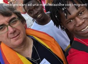 """Blitz delle forze dell'ordine alla parrocchia di Vicofaro. Nuova intimidazione """"di Stato"""" contro don Massimo Biancalani e i migranti"""