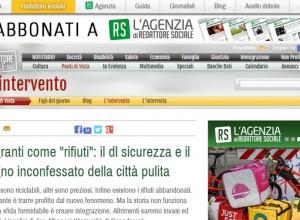 """""""Rifiuti speciali"""": i migranti nelle politiche italiane secondo don Vinicio Albanesi"""