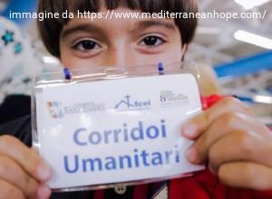 Corridoi umanitari: giovedì a Fiumicino 77 profughi siriani