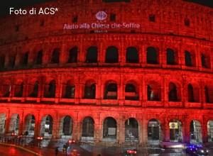 """ACS: il mondo si """"tinge"""" di rosso per vincere il silenzio sulla persecuzione anticristiana"""
