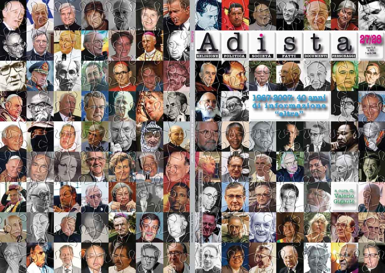 Adista, 1967-2007: 40 anni di informazione